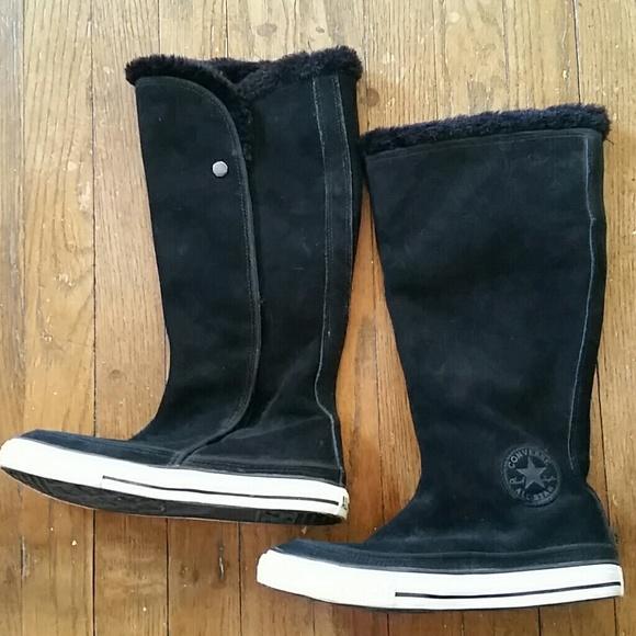Converse Shoes - Converse Chuck Taylor All-Star furry boots shoes. 3e1b3d81a