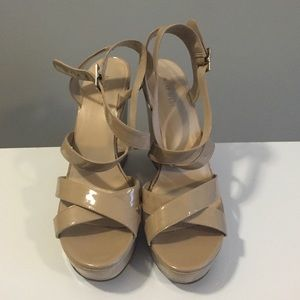 Nine West sandal wedges