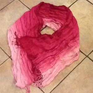 Pink Ombré Scarf
