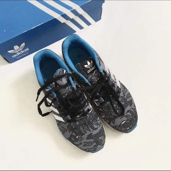94300a4d47d8 Adidas Shoes - ADIDAS ZX FLUX BOYS 5.5 WOMENS 7.5