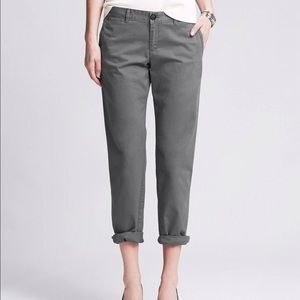 Awesome Banana Republic Utilitypocket Weekend Chino In Silver Silver Spoon