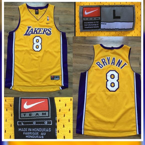 Nike NBA 🏀Kobe Bryant  8 Lakers Jersey. M 57179e7ca88e7d4c230390d5 1304440705