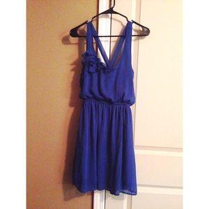 Cobalt Blue Merona sun dress