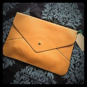 Candy Coated Oversized Envelope Clutch