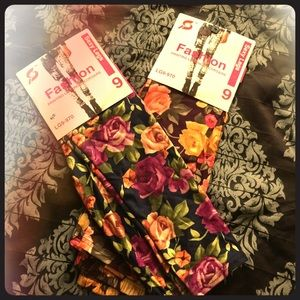 Pants - Floral Leggings Bundle