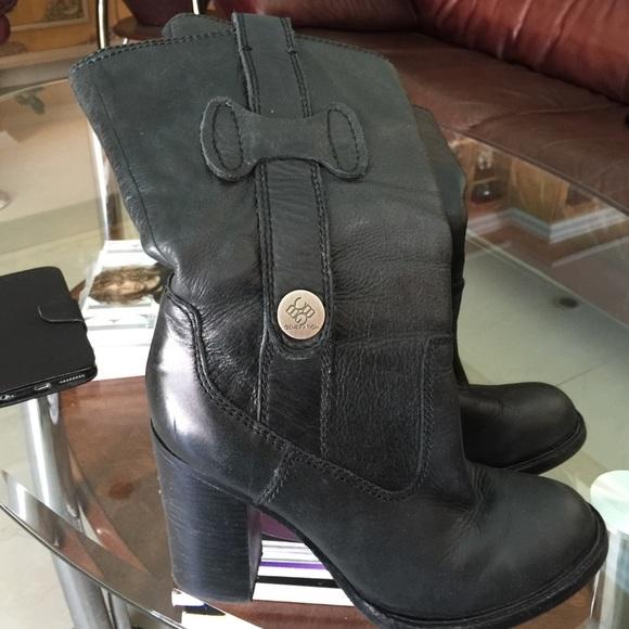 91 bcbg shoes bcbg 100 soft black leather boots