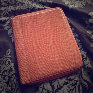 Rust/Coral iPad Case