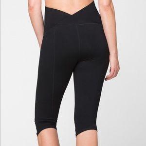 a10ab50170162 Ingrid & Isabel Pants - Ingrid & Isabel knee-length maternity workout pant