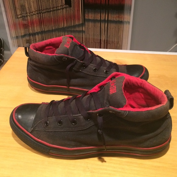 cd409507fc5 Converse Other - Men s size 14 Black   Red Converse All Star Shoes