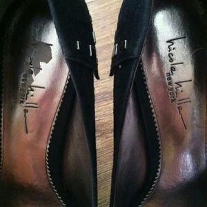 Nicole Miller Shoes - Nicole Miller Studded Olivian Heels