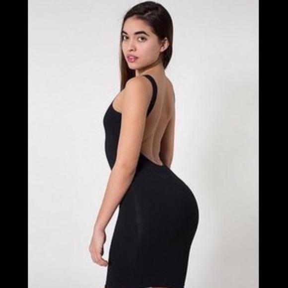 American Apparel Dresses   Skirts - American Apparel Low Scoop Back Dress 72f9c173a