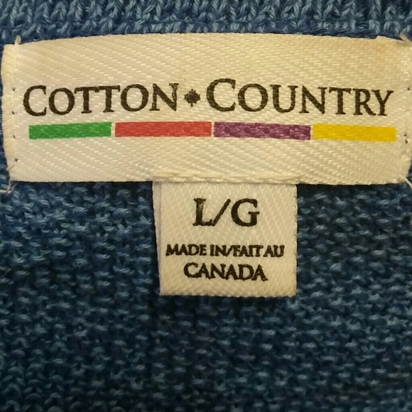 Cotton Country - Blue Country Sweater from Jack's girls's closet ...