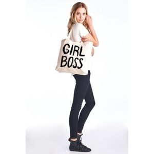 Handbags - 1 HOUR SALE!! Girl Boss Tote Bag