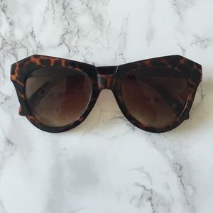 Imitation Karen Walker Tortoise Sunglasses