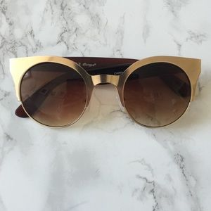 Gold Cat Eye Sunnies