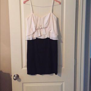 BCBGMAXARIA Black/White Dress