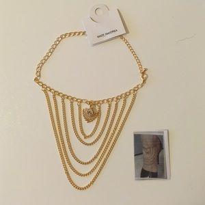 Jewelry - Ankle Bracelet High Heel Shoe Chain Layered
