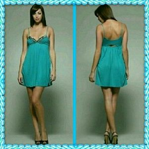 LaRok Dresses & Skirts - Nwt LaRok Studded Dream Cut Out Dress szL