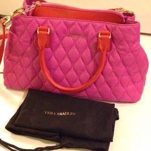 76 Off Vera Bradley Handbags Vera Bradley Quilted And