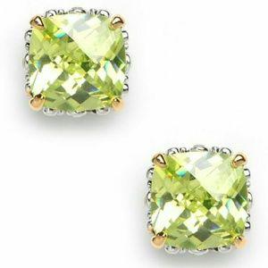 BaubleBar Jewelry - Bauble bar Cushion cut stud earrings