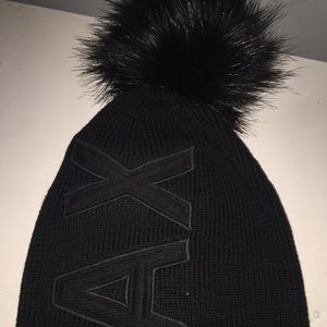 Armani Exchange Accessories - Giorgio Armani Winter Hat - Black 5d888a070c7