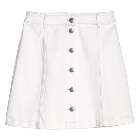 60 h m dresses skirts white a line skirt from