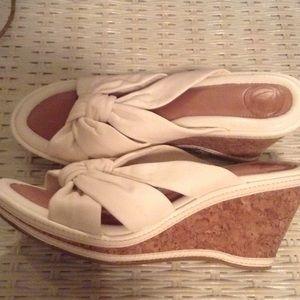 Shoes - Nurtura White wedge shoes👠❤️💕😘