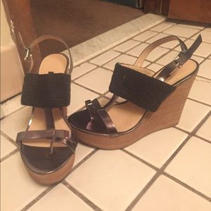 French connection wedge sandal
