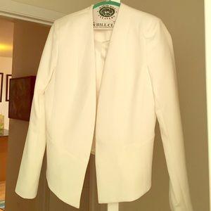 White topshop blazer size 8