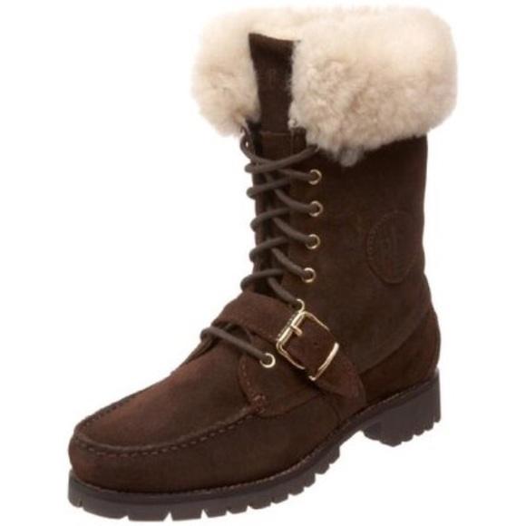 53 ralph shoes ralph fur boots size 7
