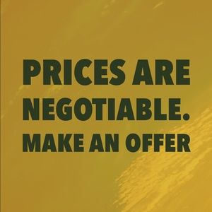 Other - Prices are not set in stone.