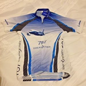 None Tops - Biking   Cycling Jersey - Boeing 787 Dreamliner 96f7b2c88