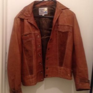 Great leather Pioneer Wear leather jacket