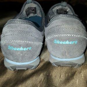 Relajó La Conversación Negro Slip-on De Zapatillas Skechers Mujeres d3WU7l