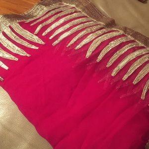 Dresses & Skirts - Soft tissue Saree