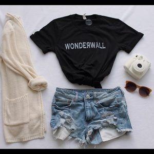 Friday Apparel Tops - Wonderwall Graphic Tee (Unisex)