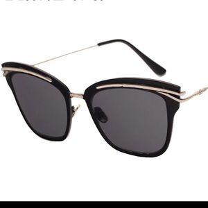Boutique Accessories - Semi Cat eye Sunglasses