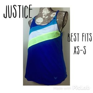 Justice Other - 🆑Justice brand workout/athletic racer back tank S