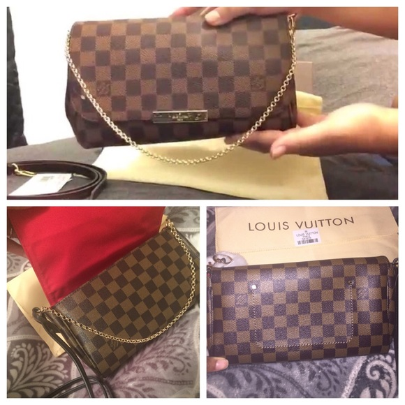 8786689fa8ca Louis Vuitton Handbags - Favorite MM Damier Ebene