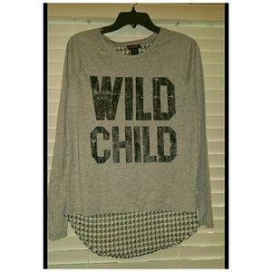 """Wild Child"" Long Sleeve"