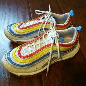 Nike Air Max Rainbow Tennis Shoes