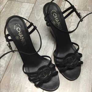 Chanel sandals 37.5