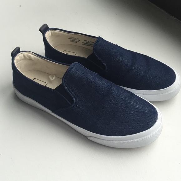 Shoes | Gap Denim Slip On Sneakers Size