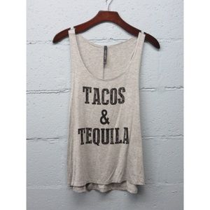Tops - 1 HOUR SALE!! Grey Tacos & Tequila Top