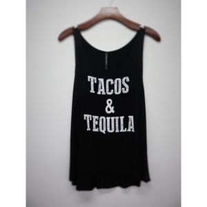 Black Tacos & Tequila Top