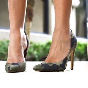 MIA Shoes - MIA shoes Limited edition Jolie Pumps Camo Print