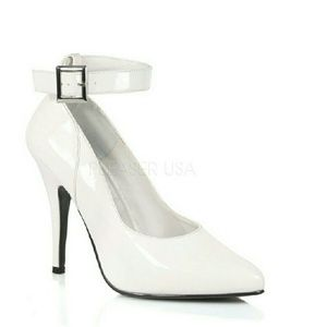 Shoes - 5 INCH ANKLE STRAP PUMP