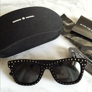 Italia Independent Accessories - Italia Independent Velvet Stud IV Rock sunglasses