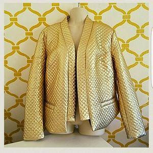 Gold Metalic Blazer