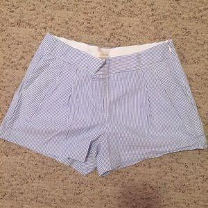 J. Crew Seersucker Shorts